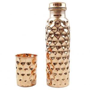 Trinkflasche Kupfer