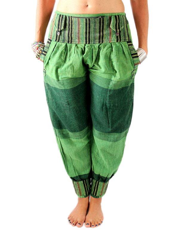 Leinenhose Rajasthani Hippie oder Goa Hose